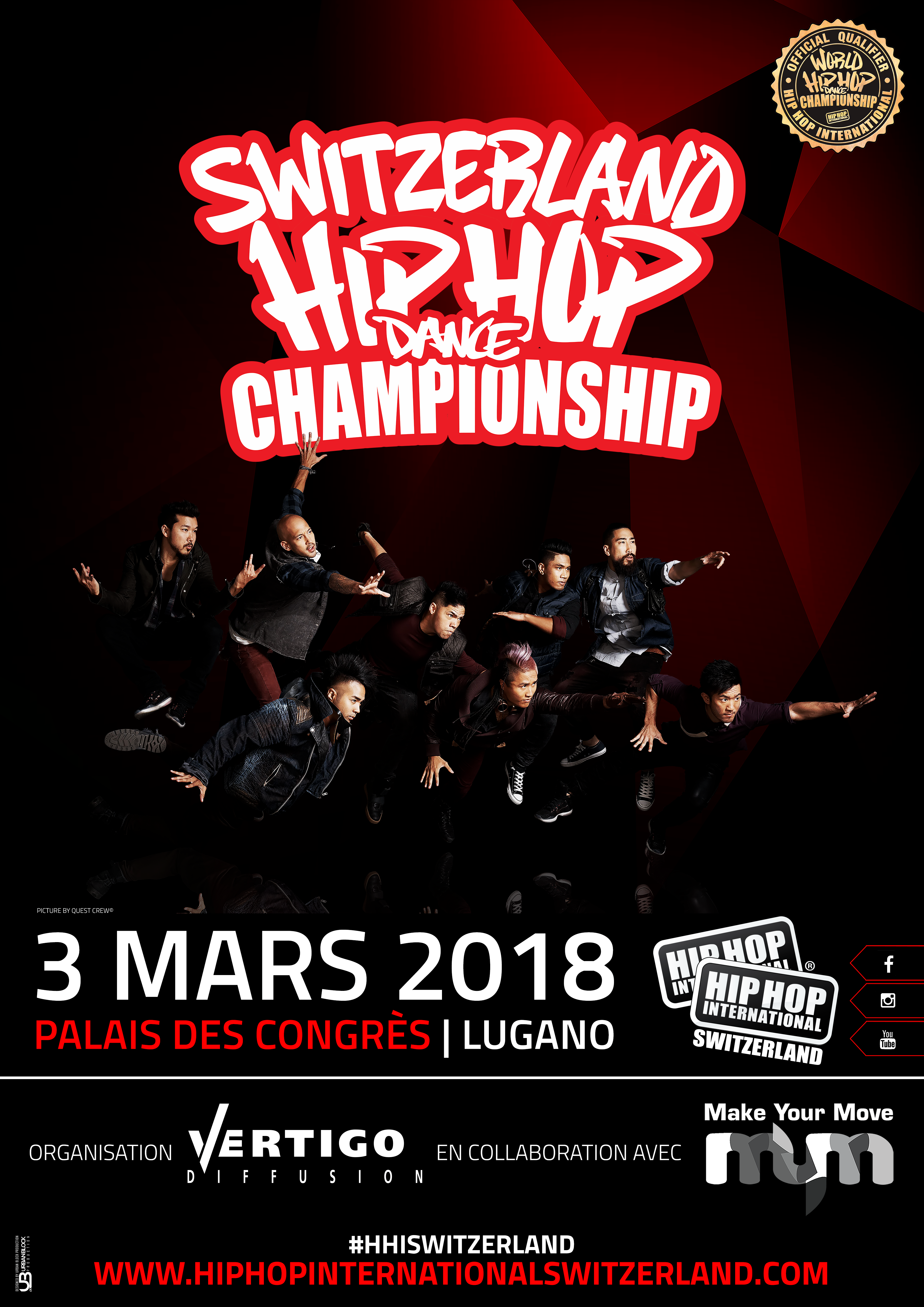 Programme 2018 Switzerland Hip Hop Competition